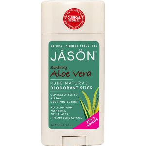 Bâton apaisantà base d'Aloe vera JASON Deodorant (71g)