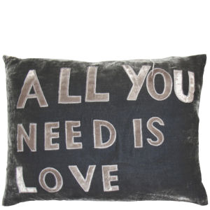 Torba Velvet All You Need Is Love Cushion