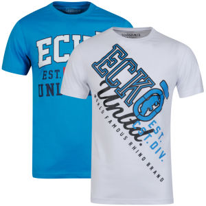 Ecko Men's Two-Pack T-Shirts - Blue/White