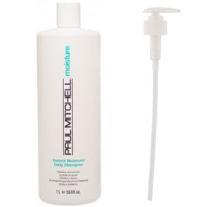 Paul Mitchell Instant Moisture Daily Shampoo (1000 ml) med pump (Paket)