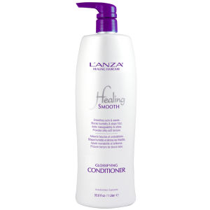 Lanza Healing Smooth Glossifying Conditioner (1000 ml) - (värt £99,00)