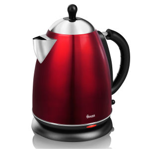 Swan 1.7 Litre Metallic Jug Kettle - Rouge