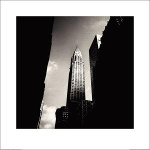 Josef Hoflehner Chrysler Building (Lexington) New York City 2007 Art Print (60x60)