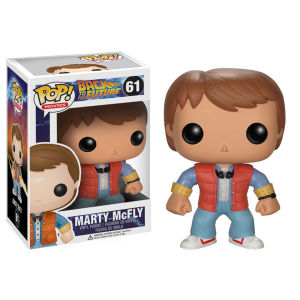 Back to the Future Marty Mcfly Pop! Vinyl Figuurtje