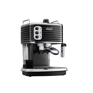 De'Longhi Scultura Espresso Coffee Machine - Black High Gloss