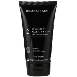 Green People Organic Homme 2 Shave Now Wash & Shave (125ml)