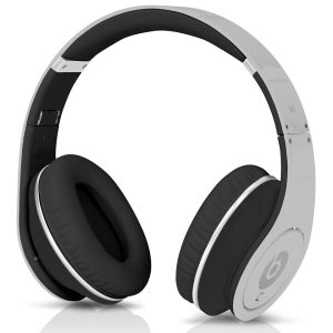 Beats by Dr. Dre: Studio Noise Cancelling HD Headphones with Microphone - Silver