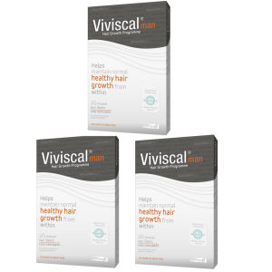 Viviscal Man Hair Growth Supplement (3 x 60 stk) (3 måneders forsyning)