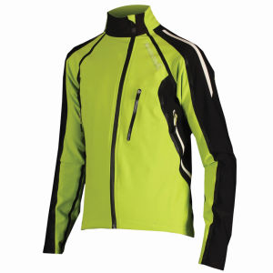 Endura Equipe Exo Softshell Jacket - Lime Green