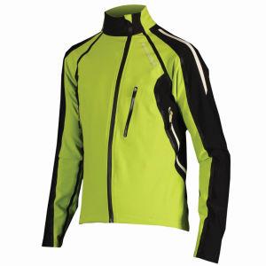 Endura Equipe Exo Softshell Jacket - Lime Green
