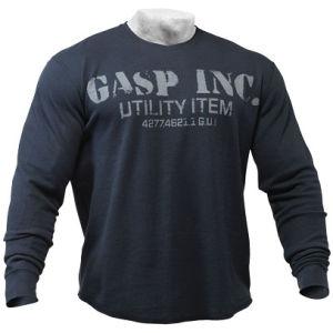 GASP Thermal Gym Sweater - Asphalt