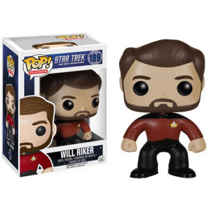 Star Trek: La Nueva Generación Will Riker Pop! Vinyl Figure