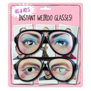 His and Hers Instant Weirdo Glasses