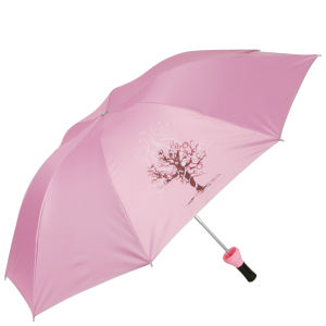 Wine Bottle Umbrella - Pink