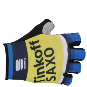 Tinkoff Saxo Team Replica Race Gloves - Blue