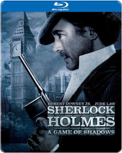 Sherlock Holmes: A Game of Shadows - Import - Limited Edition Steelbook (Region 1)