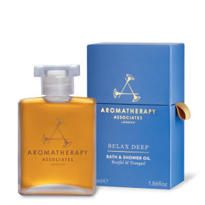 Aromatherapy Associates Relax Deep Relax Bath & Shower Oil (55ml) On Sale
