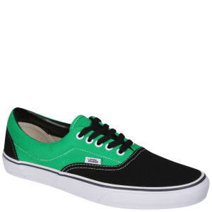 Vans ERA Canvas Two Tone Trainers - Black/Bright Green