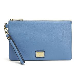 Marc B Leanne Pouch Clutch Bag - Blue