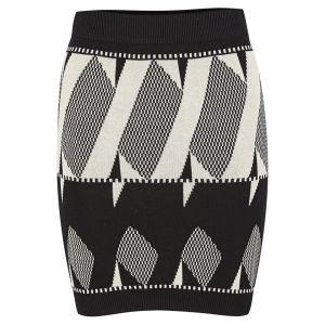 VILA Women's Llera Knitted Skirt - Black