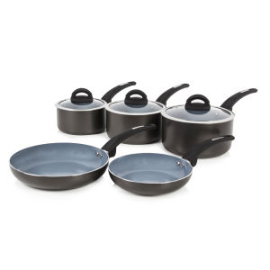 Tower T80303 5 Piece Pan Set - Graphite - 16/18/20cm