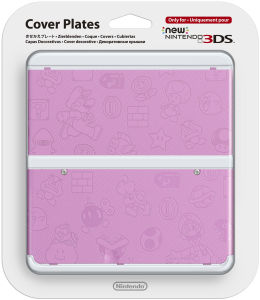 Coque New 3DS -Super Mario Bros. Rose