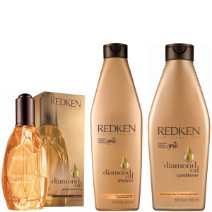 Pack Redken Diamond Oil Shatterproof Shine