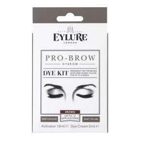 Zestaw do henny brwi Eylure Pro-Brow Dybrow – Dark Brown