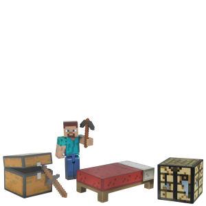 Minecraft – Kit de Survie– Figurine Articulée 7 cm