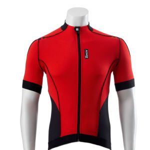 Santini Zero Impact Short Sleeve Jersey - Red
