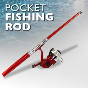 Pocket Sized Extendable Fishing Rod