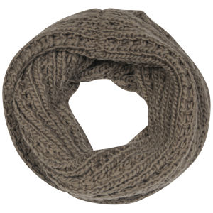 Women's Knitted Snood - Mink