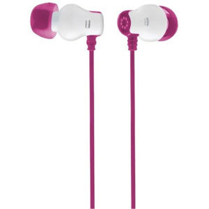Memorex Stereo Earbuds - Pink