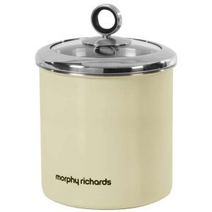 Morphy Richards Accents Large Storage Canister - Cream