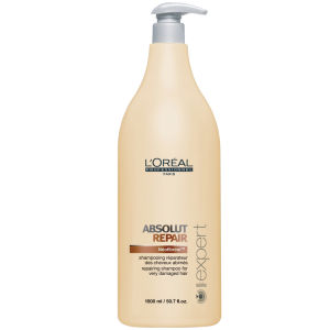 L'Oreal Professionnel Serie Expert Absolut Repair Shampoo (1 500 ml) med pump