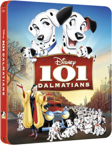 101 Dalmatians - Zavvi Exclusive Limited Edition Steelbook (The Disney Collection #10) (UK EDITION)