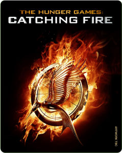 The Hunger Games: Catching Fire - Steelbook Edition (Includes DVD and UltraViolet Copy)