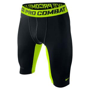Nike Men's Hyperwarm Dri Fit Compression Short - Black