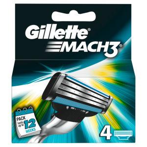 Cuchillas Gillette Mach3 4s