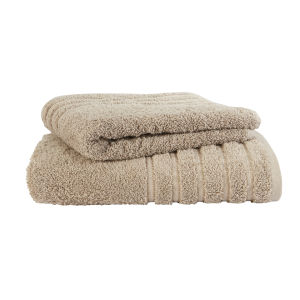 Kingsley Lifestyle Towel - Biscotti