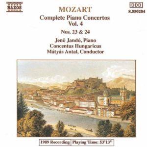 Piano Concertos Nos. 23 And 24 (Antal, Jando)
