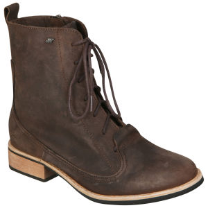 Boxfresh Women's Tithin Lace Up Boots - Dark Brown