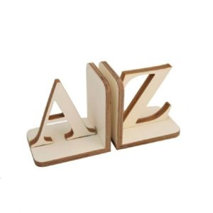 Little Childs - A-Z Bookends - White