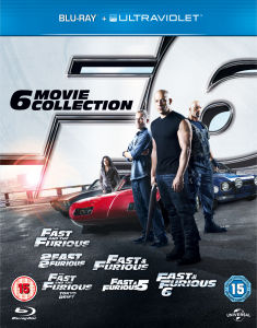 Fast and the Furious: 6 Movie Verzameling (Bevat UltraViolet Copy)