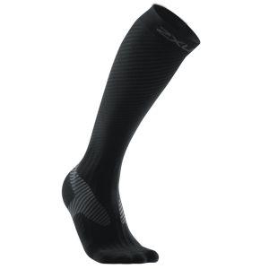 2XU Men's Elite Compression Sock - Black/Grey