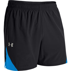 Under Armour Men's Coldblack Run Shorts - Black/Electric Blue/Reflective