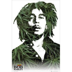 Bob Marley Leaves - Maxi Poster - 61 x 91.5cm
