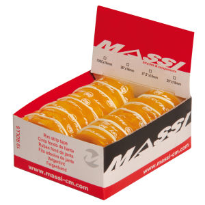 Massi Pack of 10 Rim Tape - Orange - 700 x 16 x 1.7mm