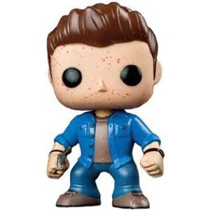 Supernatural Dean Blood Splatter Exclusive Pop! Vinyl Figure
