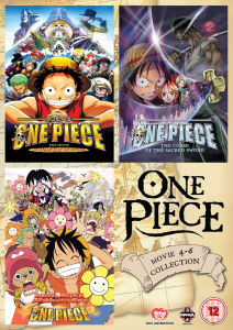 One Piece Movie - Collection 2 (Contains Films 4-6)